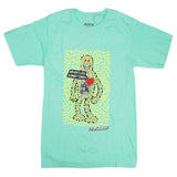 Heartless Robot Tee (Aqua/Neon) /D14