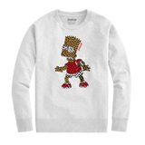 Bart Puzzled Crew (White) /D15