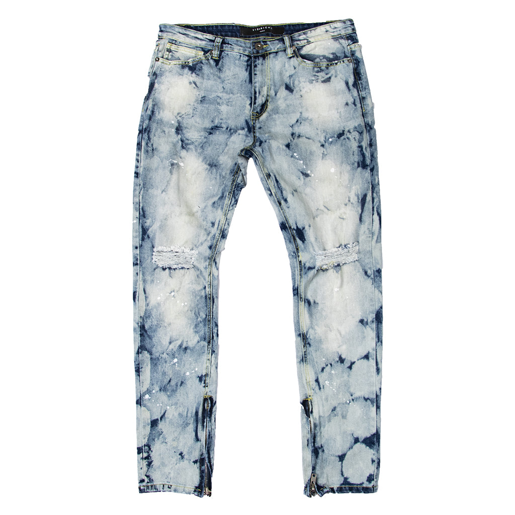 Between The Lines Denim Jeans (Blue) /C5