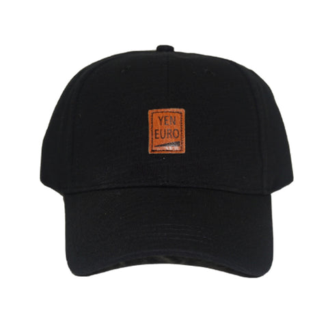 YE Patch Dad Hat (Black)