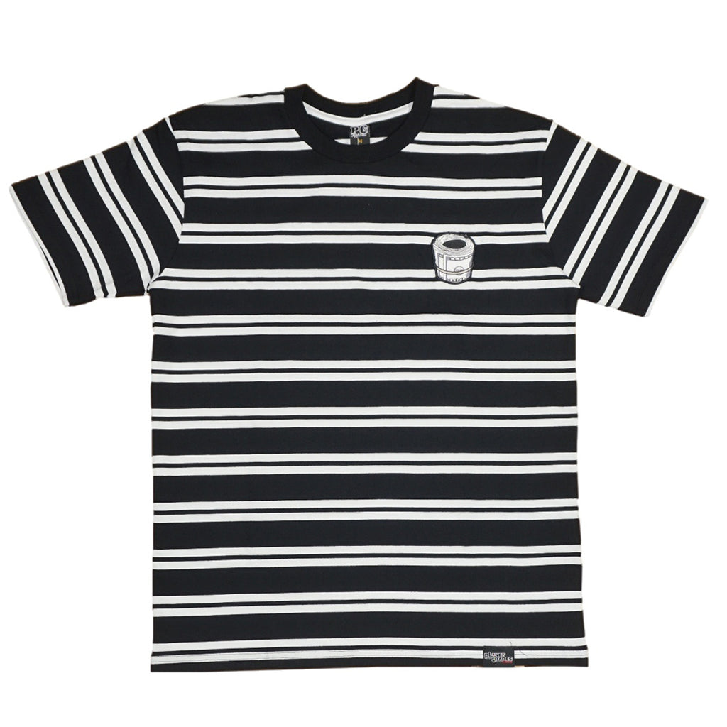 Money Stripe Tee (Blk/Wte) /D18
