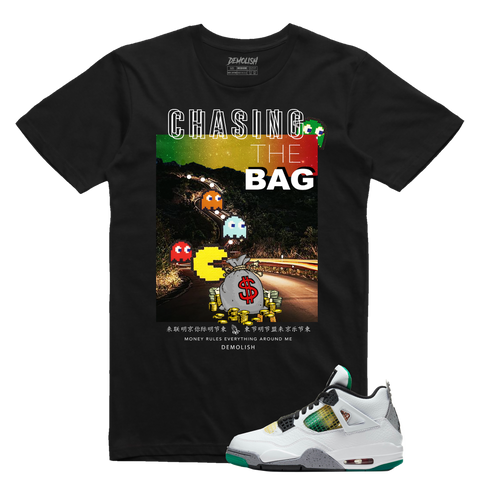 Chasing The Bag Rasta (Black)