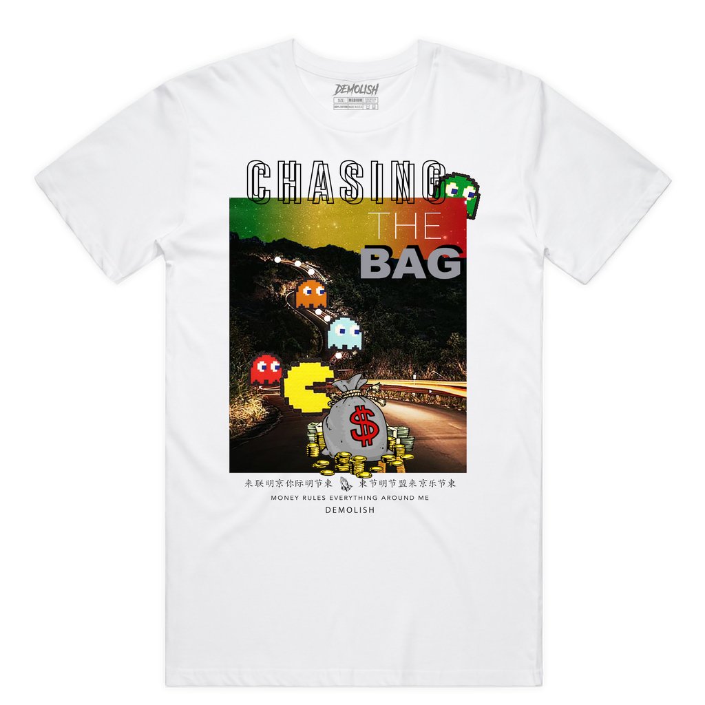 Chasing The Bag Rasta (White)