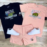 Hustle Foundation Tee (Pink) / D2