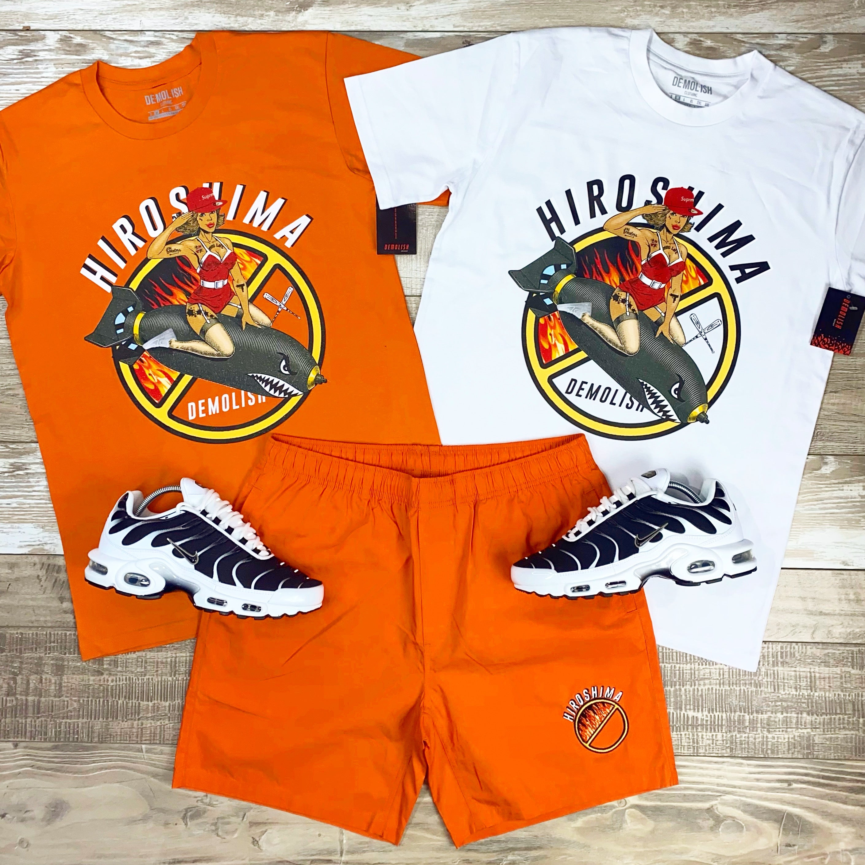 Hiroshima Ride Tee (Orange) /D2