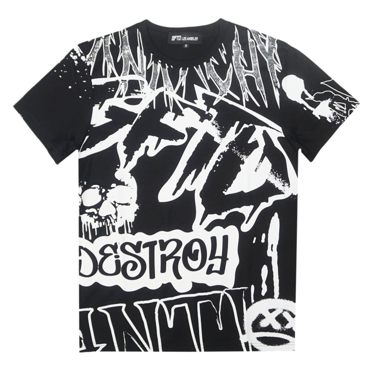 Anarchy Tee (Black) /D10