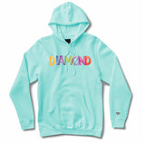 Watercolor Hoodie (Diamond Blue) /MD1