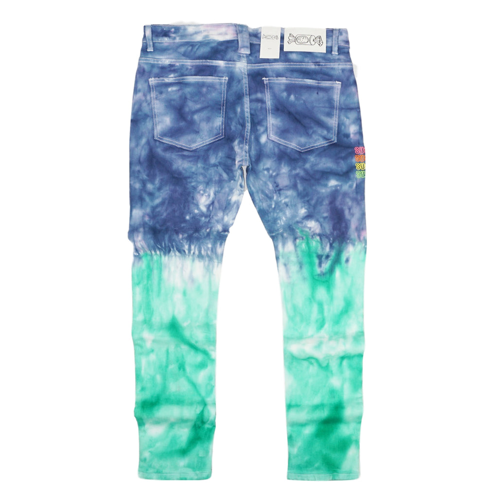 Reptar Bleached Denim (Green/Multi) /C3