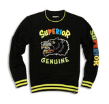 Superior Crew Neck (Black) / D11