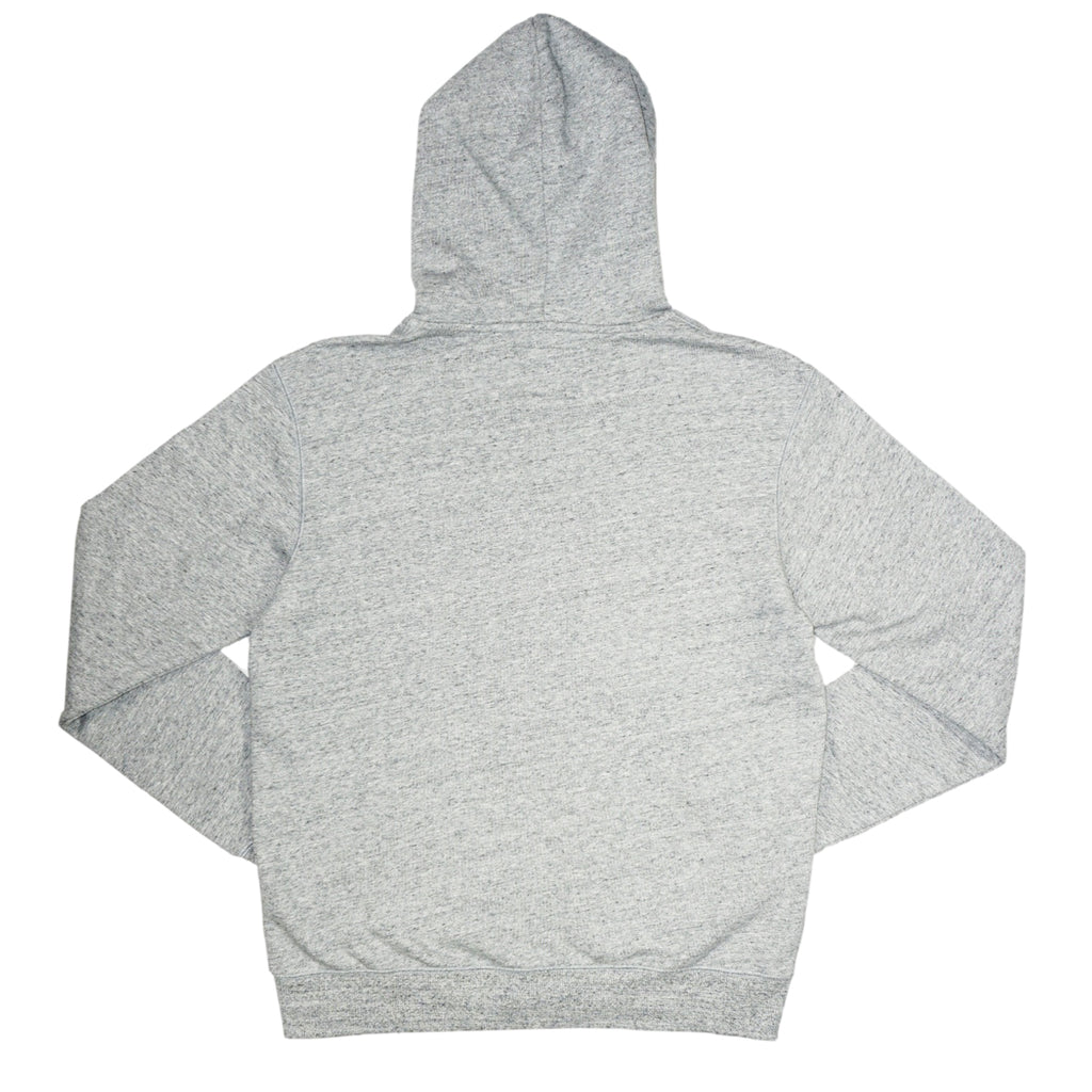 Full Zip Hoodie Sweatshirt (Heather Grey) /D11