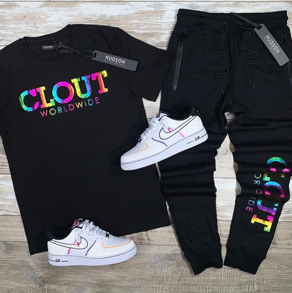 Clout Tee (Black) /D5