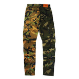 Wild Stone Washed Skinny Mixed Pants (Camo) / C1