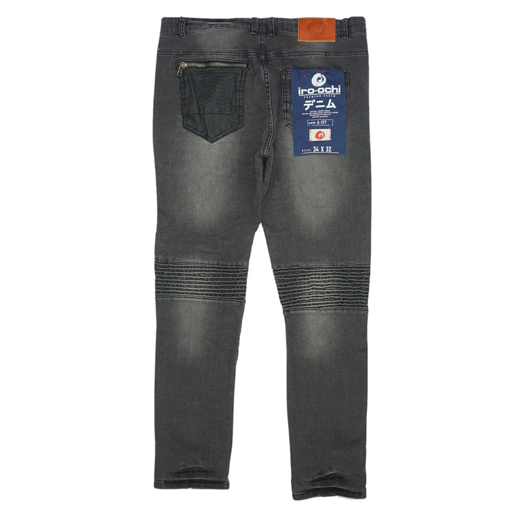Panku Denim Jeans (Black Blast) / C6