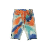 Diwali Denim Short (Tie-Dye) /D17