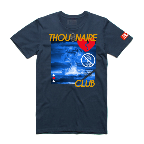 Nuclear Tee (Navy/Gold/Red)