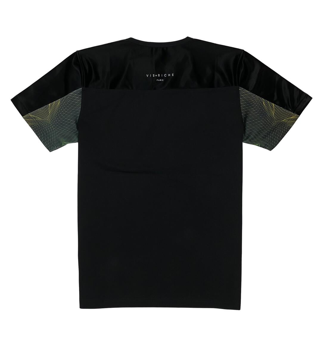 Orion Panel Tee (Blk/Grn) /D5