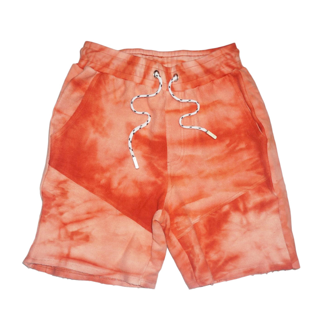 French Terry Short Tie-Dye (Orange) /D17