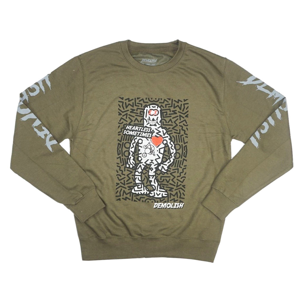 Heartless Robot Crew (Olive/Blk) /D14