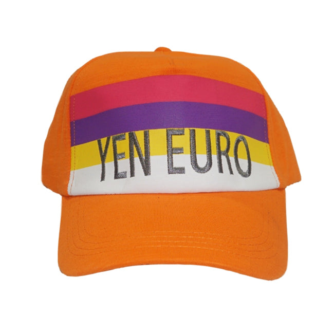 YE Color Block Hat (Orange)
