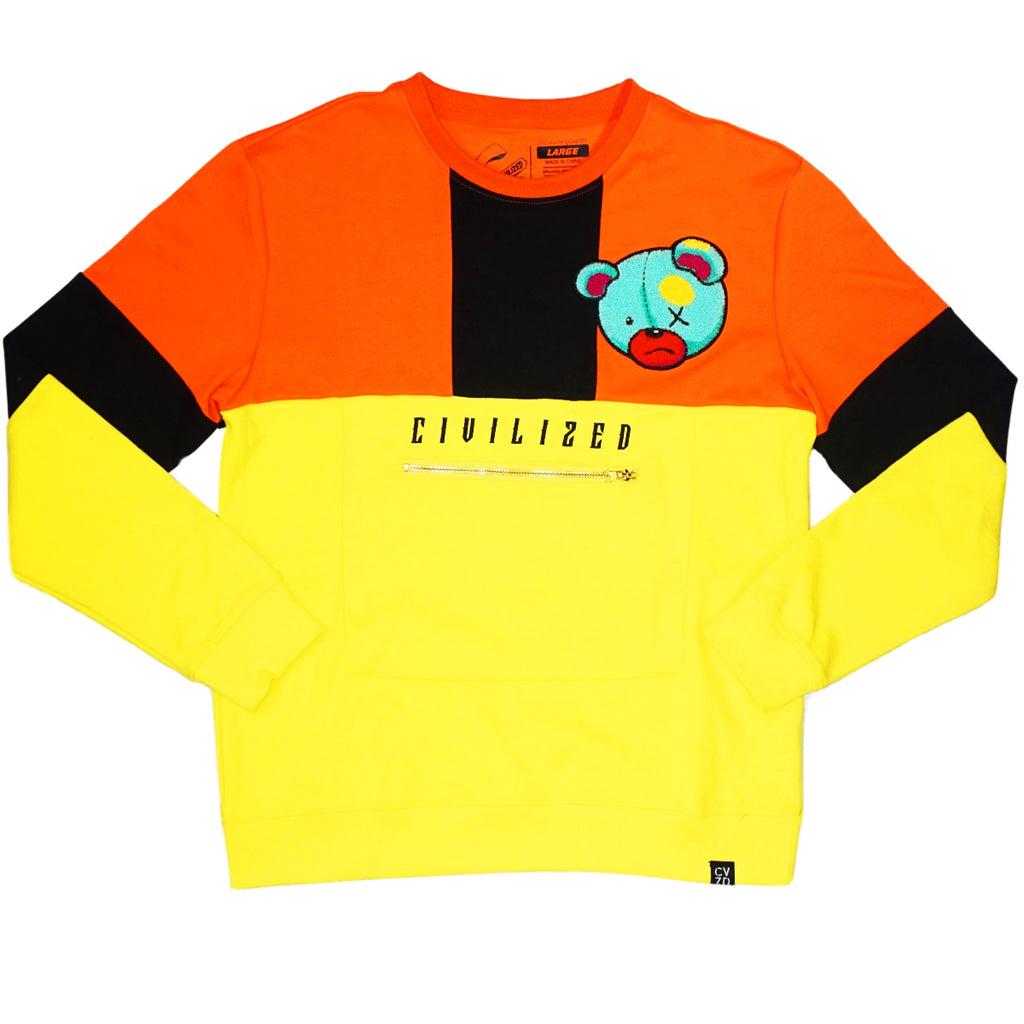 Color Block Bear Set (Yellow) / C1