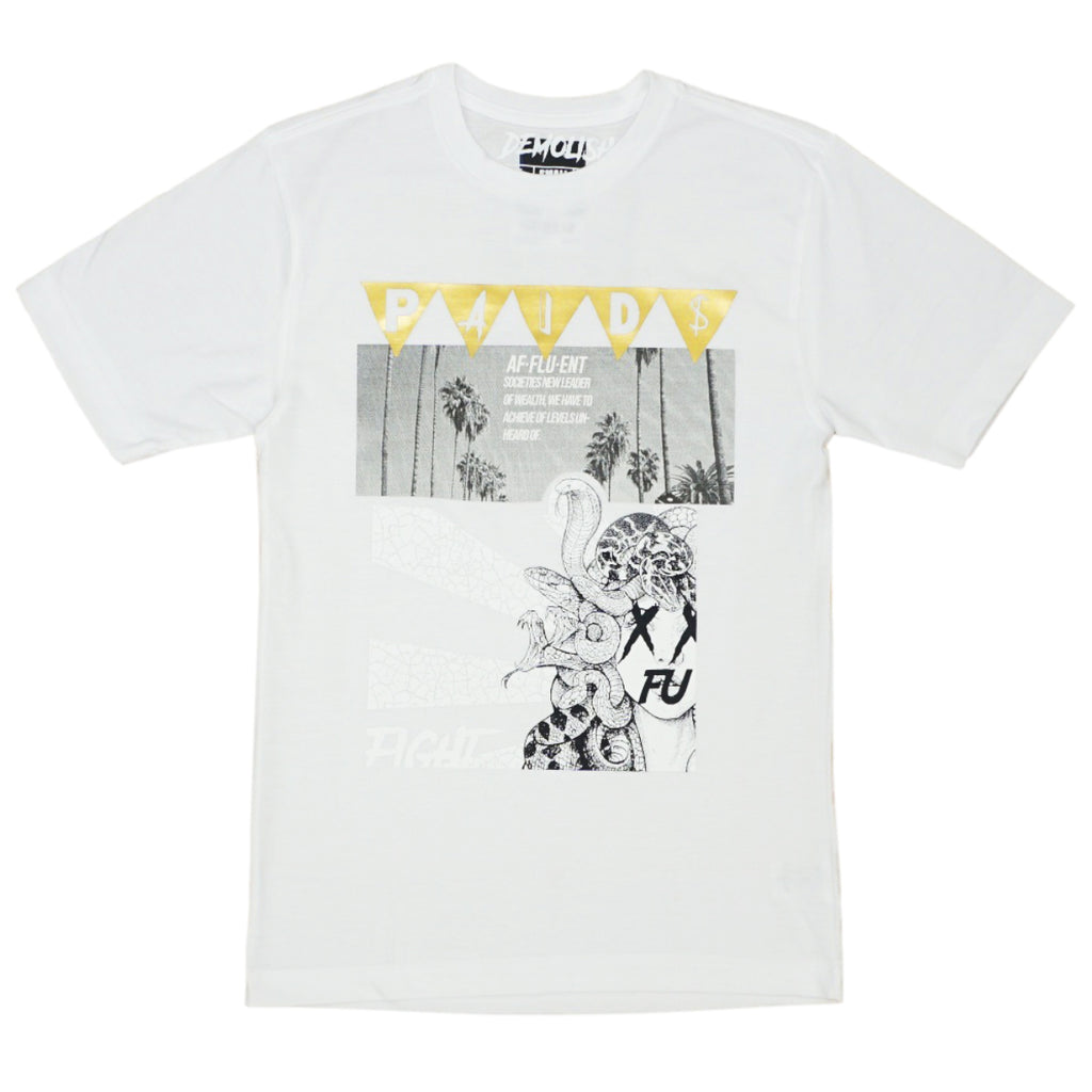 Paid Medusa Tee (White) /D5