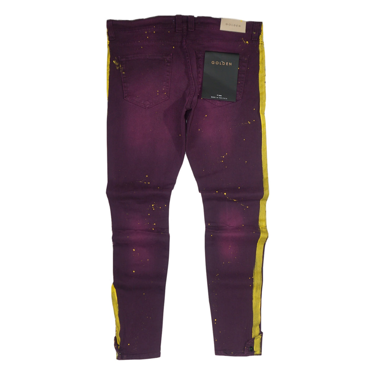 The Union Stripe Coup Denim (Purple/Yellow)/ C6