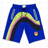 Sunset Drip Shorts (Blu/Yllw) /D9