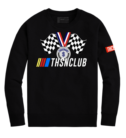 Race Medal Crewneck (Black)