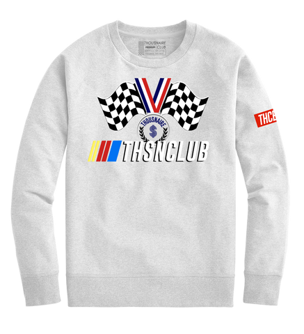 Race Medal Crewneck (White)