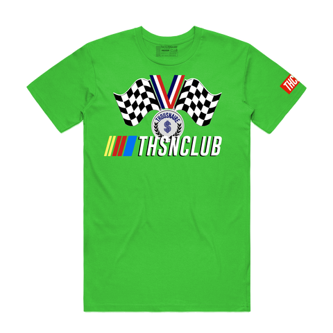 Race Medal Tee (Green Apple)