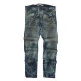 The Signature Abyss Stained Denim (Blue) /C8