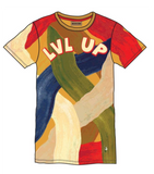 LVL Up Tee (Khaki) /D17