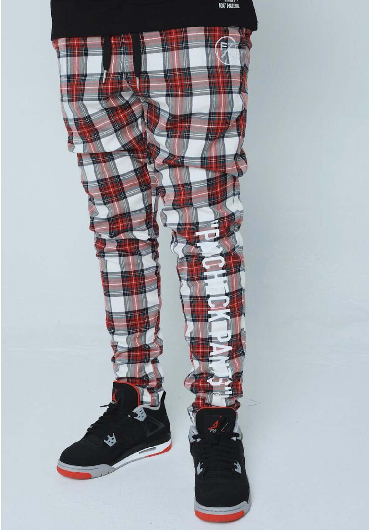 Paycheck Pants (Red) /D12