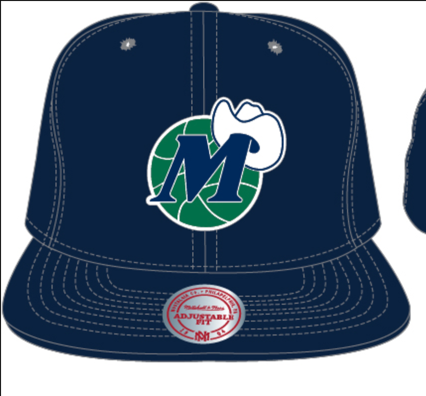 Dallas Mavericks SnapBack (Navy)