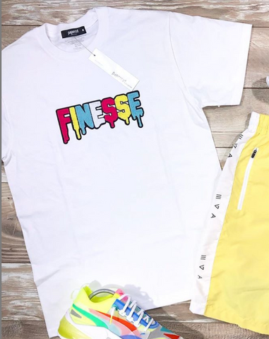 Finesse Tee (White)