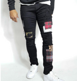 Masseria Patch Work Denim (Jet Black) /C6