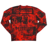 SMGLR Daily Tie Dye Crew (Red) / D11