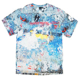 Paint Splatter All Over Tee (Multi)