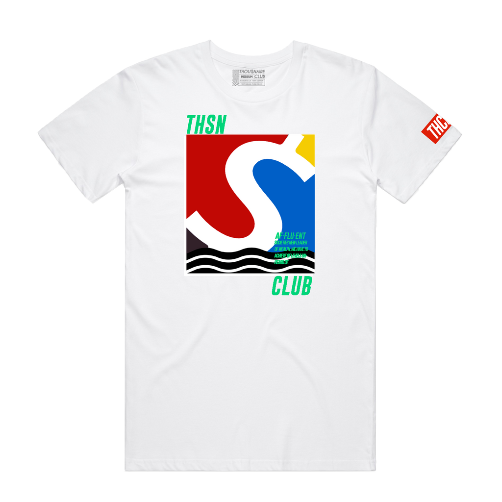 Money Wave Tee (White)/D15