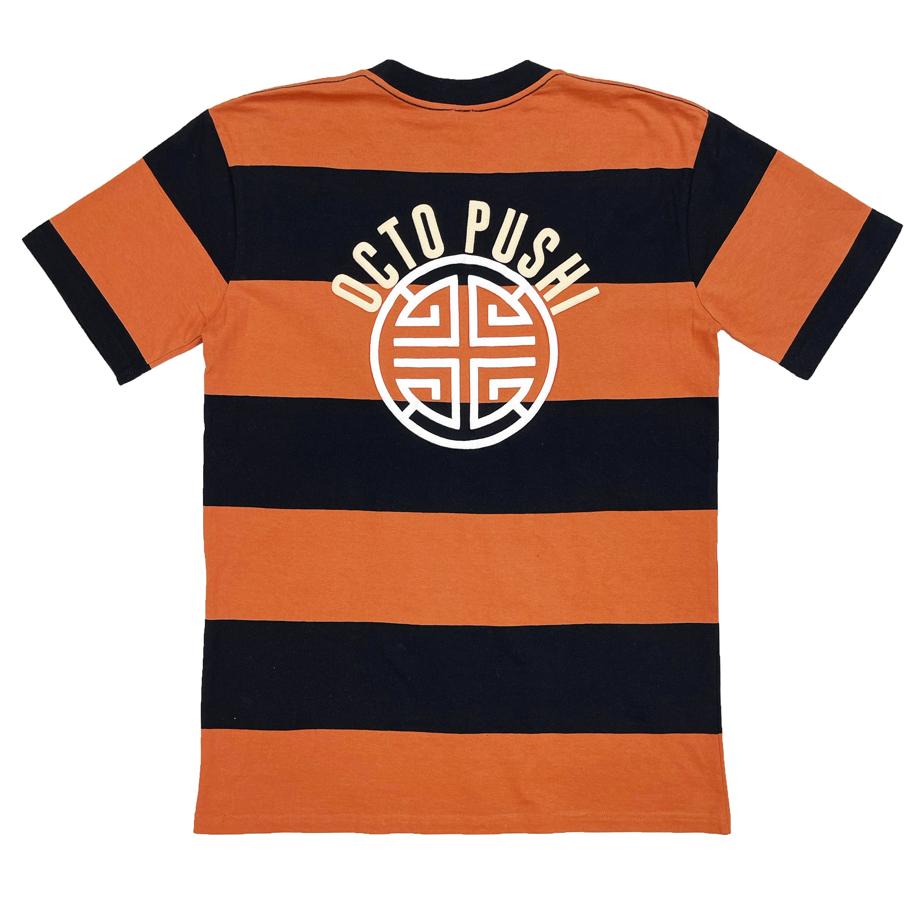 Truth or Judge Stripe Tee (Cooper/Black) /D5
