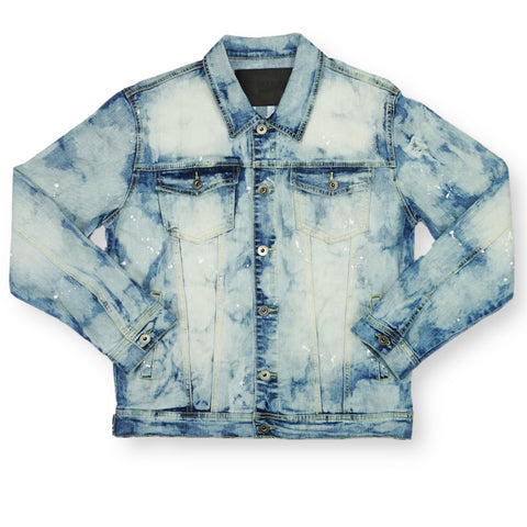 Between The Lines Denim Jacket (Blue) /