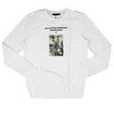Uses Words Sweater (White)/D2
