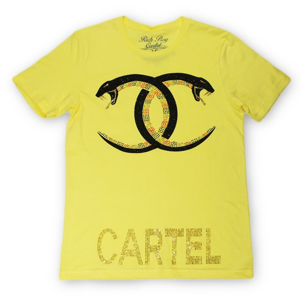 Snake Cartel Tee (Yellow)