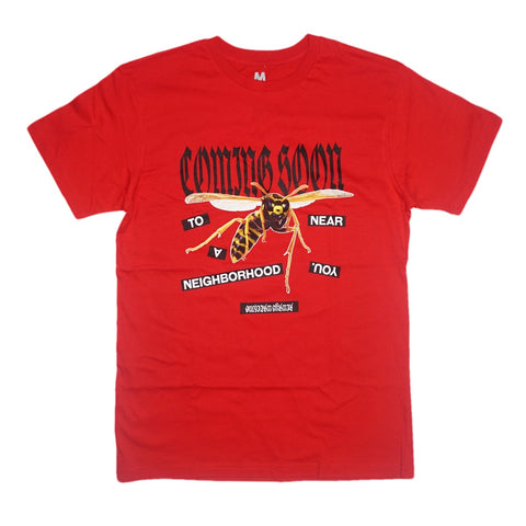 Neighborhood Bee Tee (Red)