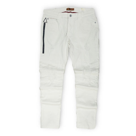 Premium Biker Denim (Cloud)/ C5
