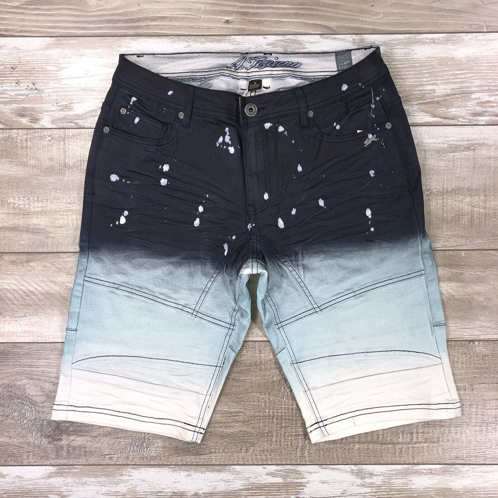 Darren Denim Shorts (Navy)C7