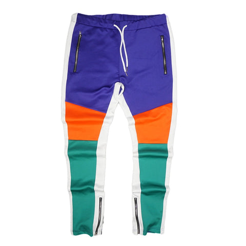 Tricot Track Pants (Green/Multi) / D7
