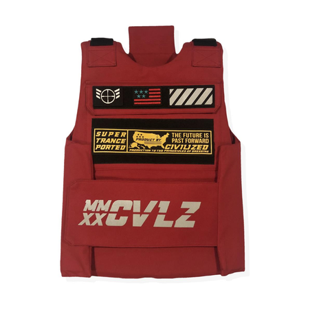MMXX Utility Vest (Red) /MD2