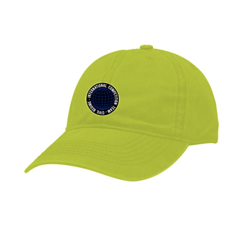 Global Core Dad Hat (Neon)