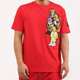 Bear Gang Tee (Red) /D15